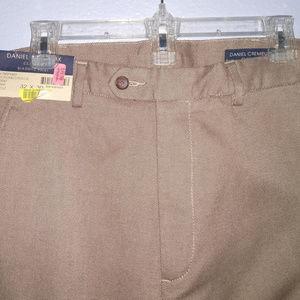 Biarritz Pants in Chocolate/Stone 32x30 32 x 30